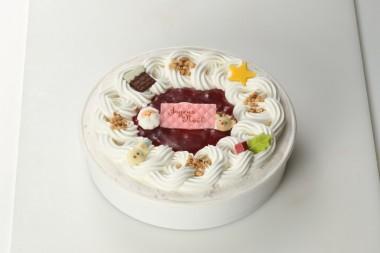 ⑪白バラアイスケーキ
